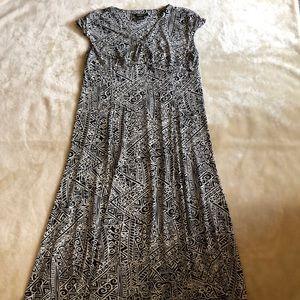 Glamour Printed Dress.
